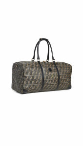 What Goes Around Comes Around Fendi Brown Duffle Bag