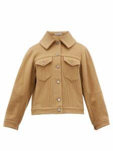 Palmer//harding - Blended Cape Back Wool Blend Jacket - Womens - Camel