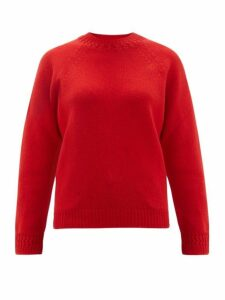 A.p.c. - Janet Wool Blend Sweater - Womens - Red