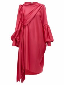 Hillier Bartley - Pillowcase Satin Crepe Dress - Womens - Pink