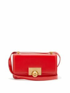 Bottega Veneta - Bv Classic Small Leather Shoulder Bag - Womens - Red
