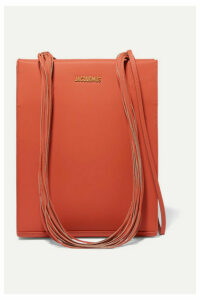 Jacquemus - Le A4 Leather Tote - Orange