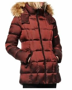 Marc New York Faux Fur-Trim Parka