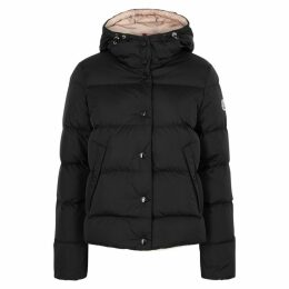 Moncler Lena Black Quilted Shell Jacket
