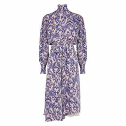 Isabel Marant Étoile Yescott Printed Silk Dress