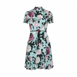 Erdem Anne Floral-print Silk Mini Dress