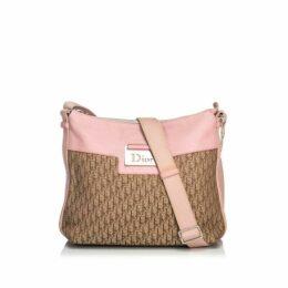 Dior Brown Oblique Canvas Crossbody Bag