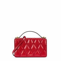 Givenchy GV3 Red Leather Cross-body Bag