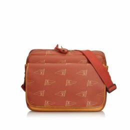 Louis Vuitton Red Americas Cup Calvi Messenger Bag