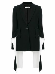 Givenchy flared panel blazer - Black
