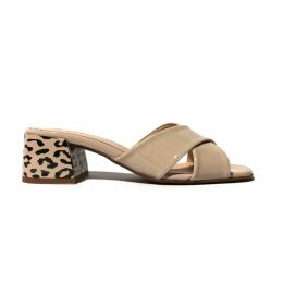 Hiva Atelier - Liber Straw Leather Bag Silver