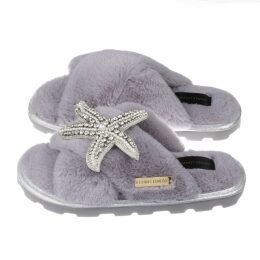 SAÏNT MOJAVÏ - The Jaipur Gingham Dress In Lilac