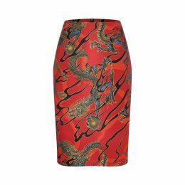 Marianna Déri - Emma Skirt Dragons Red
