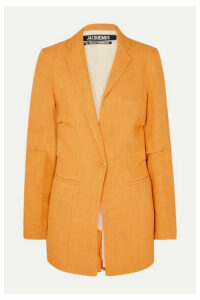 Jacquemus - Bergamo Canvas Blazer - Orange