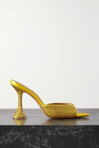 Racil - Cutout Printed Satin-jacquard Maxi Dress - Black