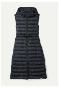Max Mara - The Cube Quilted Shell Down Vest - Midnight blue