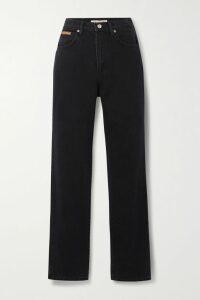 Acne Studios - Deera Ruched Cotton-poplin Dress - Orange
