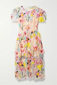 AMIRI - Oversized Tie-dyed Cotton-jersey Hoodie - Green