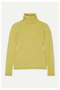 Max Mara - Wool Turtleneck Sweater - Yellow
