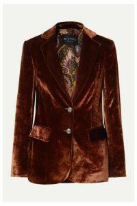 Etro - Velvet Blazer - Copper