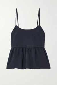 Cushnie - Layered Embellished Stretch-jersey Dress - Grape