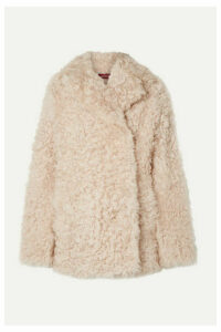 Sies Marjan - Pippa Tigrado Oversized Shearling Coat - Cream