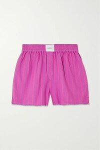 Halpern - Draped Dégradé Sequined Tulle Dress - Pink