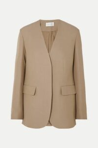 The Row - Murray Wool And Silk-blend Blazer - Beige