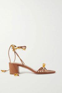 Petar Petrov - Dublin Belted Asymmetric Polka-dot Silk-twill Dress - Ivory