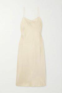 Attico - Velvet-trimmed Embellished Sequinned Tulle Mini Dress - Gold