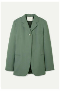 3.1 Phillip Lim - Wool-blend Crepe Blazer - Gray green