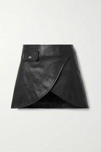 Akris - Pleated Wool Midi Dress - Navy