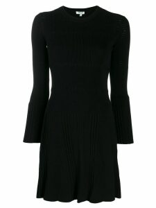 Kenzo long-sleeved knit dress - Black