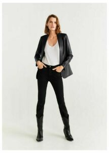 Structured lapels blazer