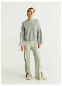 Cable-knit 100% cashmere sweater