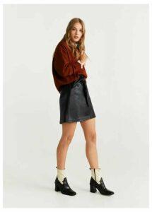 Belt miniskirt