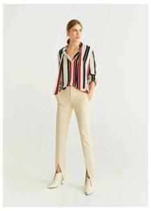 Flowy printed blouse