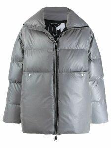 Khrisjoy loose-fit padded coat - Grey