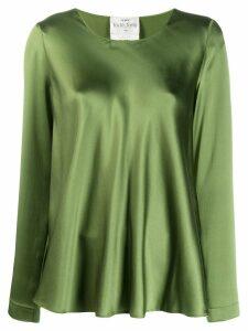 Forte Forte satin blouse - Green