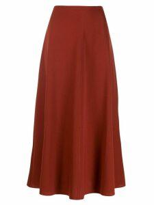 Forte Forte twill midi skirt - Red