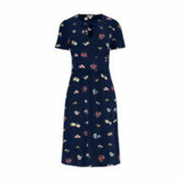 Flower Meadow Spray Tea Dress