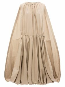 JW Anderson oversized cape dress - Neutrals