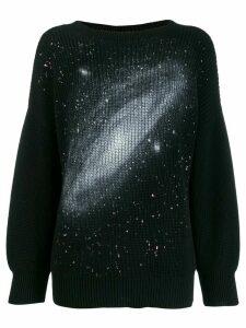 Pinko oversized galaxy jumper - Black