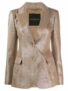 Ermanno Scervino shiny button blazer - Pink