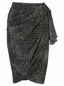 Altuzarra silk Polly skirt - Black