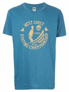 Velva Sheen West Coast T-shirt - Blue