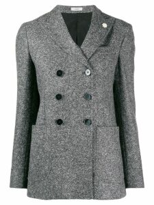 Lardini double breasted blazer - Grey