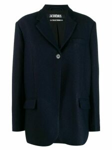 Jacquemus Moyo tailored blazer - Blue