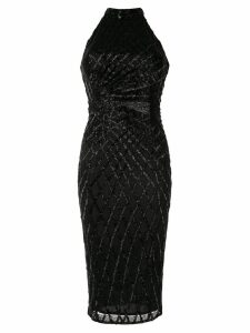 Rachel Gilbert Aryel halterneck dress - Black