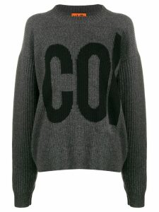 colville logo embroidered sweater - Grey